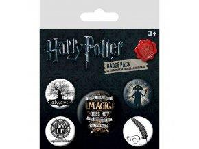harry potter sada placek symboly