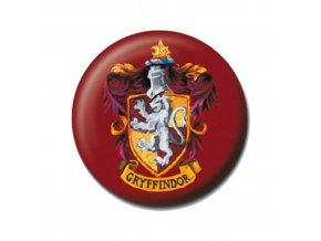 harry potter placka bradavice nebelvir gryffindor