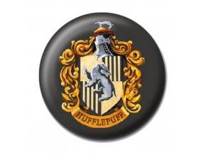 harry potter placka bradavice mrzimor hufflepuff