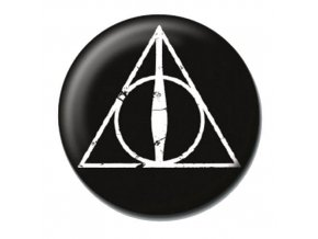 harry potter placka bradavice relikvie smrti deathly hallows