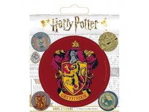 harry potter vinylove samolepky nebelvir