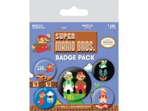 super mario sada placek retro