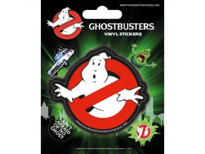 ghostbusters krotitele duchu vinylove samolepky logo