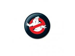 ghostbusters krotitele duchu placka logo