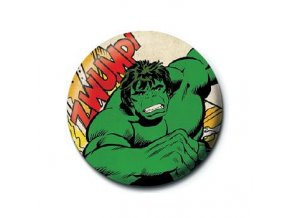 marvel comics avengers placka hulk