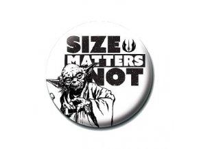 star wars placka size matters not
