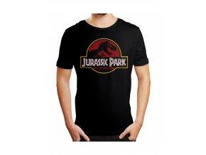 jursky park jurassic park tricko vintage logo