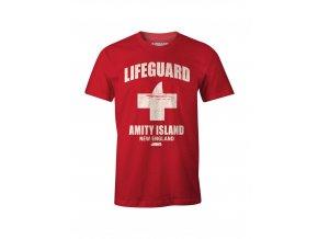 celisti jaws tricko amity island lifeguard