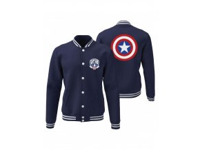 captain america marvel college jacket captain america shield (2)