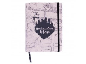 harry potter blok zapisnik pobertuv planek marauders map