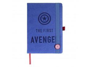 avengers luxusni blok zapisnik captain america first avenger