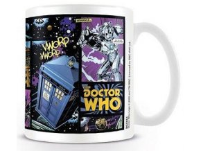 hrnek mug doctor who