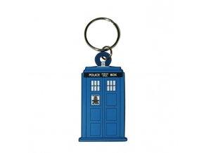 klicenka doctor who tardis keychain