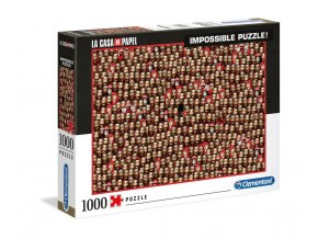 la casa de papel puzzle impossible puzzle