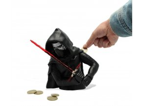 star wars pokladnicka money bank kylo ren
