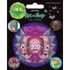 vinylove samolepky rick and morty psychedelic visions 5f4f166999d14