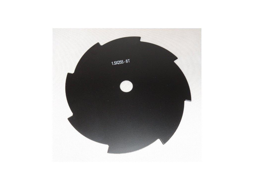 DEMON Vyžínací kotúč pre krovinorez 8-zubový 255mm x 1,6 mm