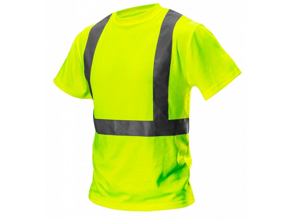 žlté reflexné tričko