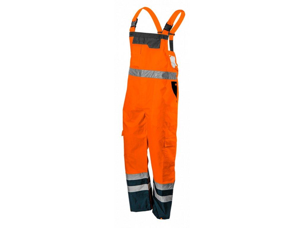 pracovné nohavice oranzove
