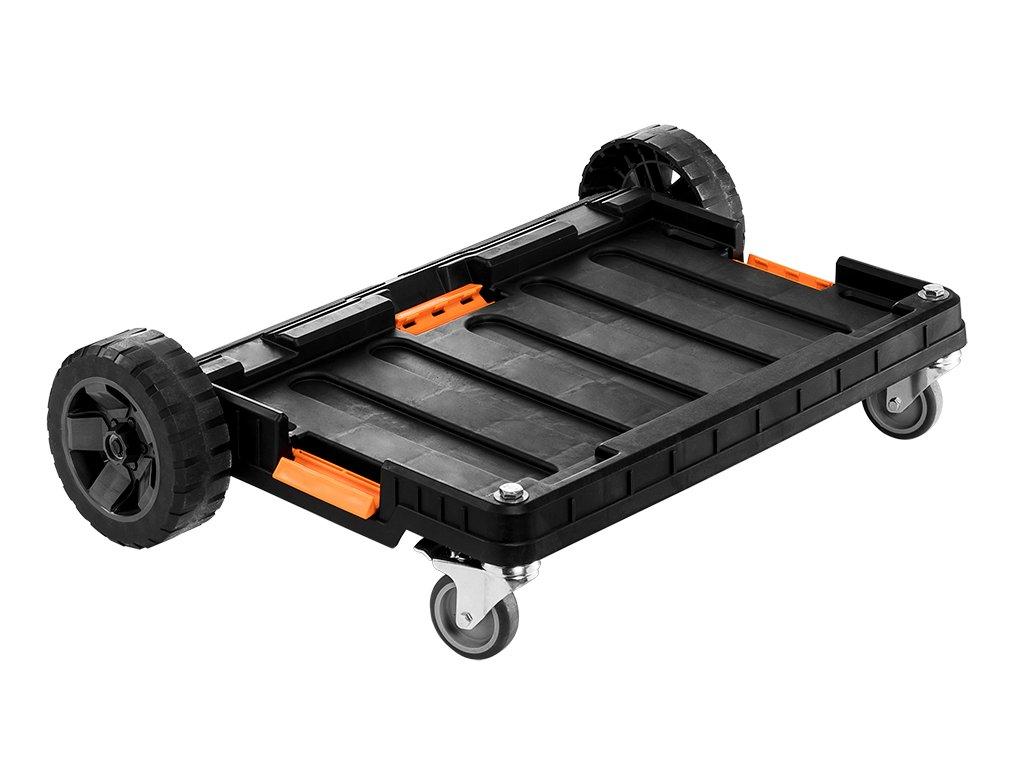 plošina na kolesách pre modulové boxy