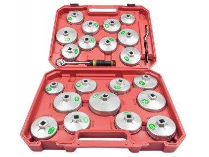 sada nástrčných kľúčov na olejové filtre