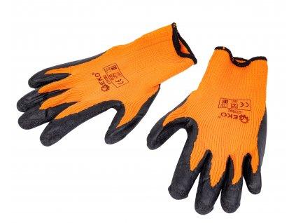 zimné pracovné rukavice