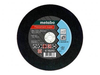 metabo rezny kotuc flexiamant super 350x30x254 inox tf 41 616343000