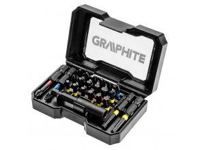 GRAPHITE 56H612 Sada bitov 23ks