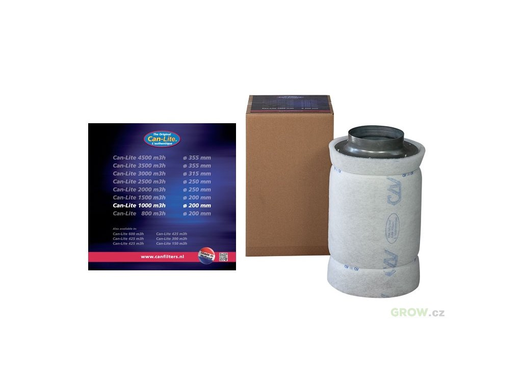 160950 1 can filters filtr can lite 1500 1650 m3 h 200mm