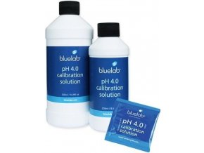 167625 bluelab ph4 calibration solution 250ml