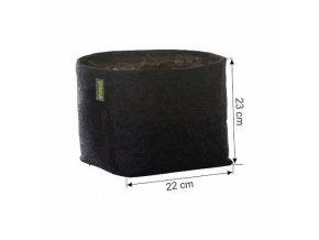 168162 1 gronest textilni kvetinac 11l aqua breathe