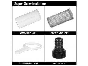 169029 1 growmax vodni filtr super grow 800l h