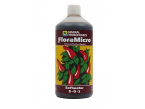 General Hydroponics FloraMicro (Objem 60l (tvrdá voda))