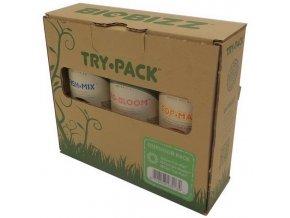 BioBizz Trypack Outdoor (Použití sady)
