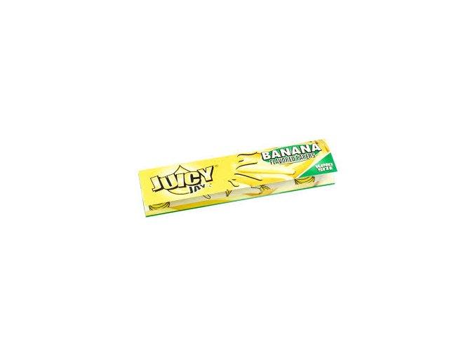 Juicy Jay´s King Size Banán 32ks v Balení