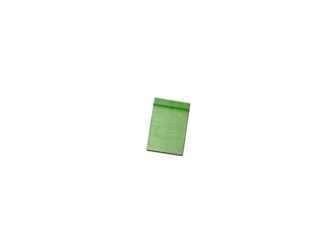 PE Sáčok na zapínanie 60x80mm Zelené s lístkom