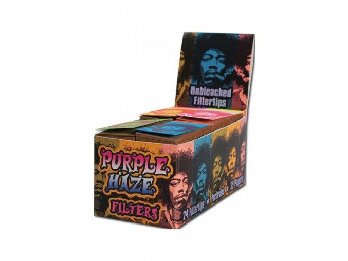 Trhacie filtre purple haze