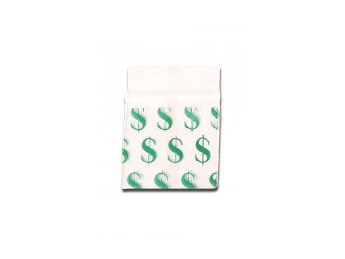 Sáčky ziplock 50x50mm 100ks dolar
