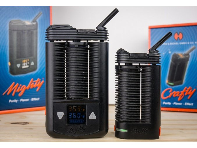 Mighty and Crafty Portable Vaporizers