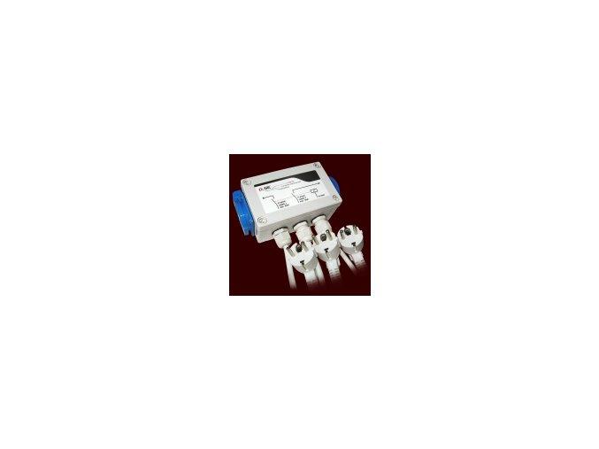 Rozvádzač GSE Relay Box 8x600W, 2x 16 A