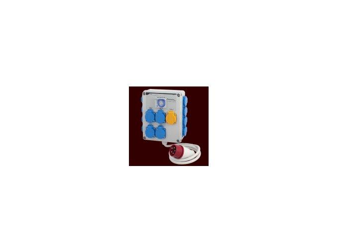 Rozvádzač GSE Timerbox III 12 x 600 W - 380 V