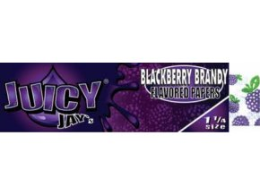 Juicy Jay´s  Blackberry Brandy 50ks v Balení 1/4