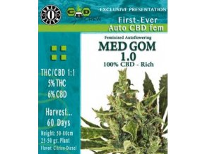 Med Gom 1.0 - 3 ks Autoflower