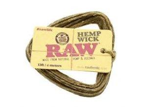 Hemp wick - konopný knot na pripalovanie 4m