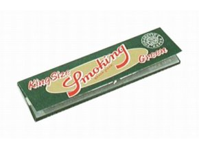 Smoking green hemp papers king size