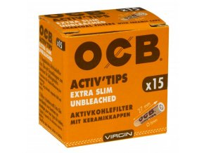 ocb activtips extra slim unbleached 6mm