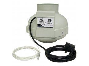 Ventilátor UFO PK Termostat-160mm-800m³/h