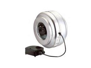 Ventilátor S&P 125mm-L 410m³/h