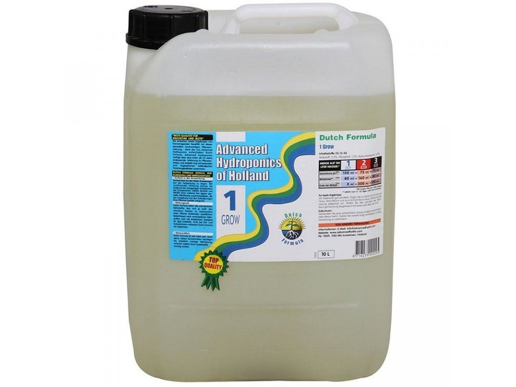 Advanced Hydroponics Hnojivo Grow 10l