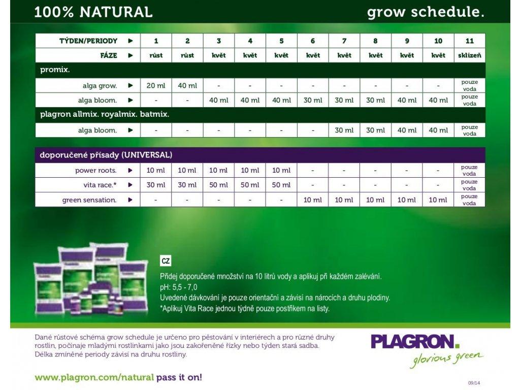 Plagron Alga Grow, 250ml